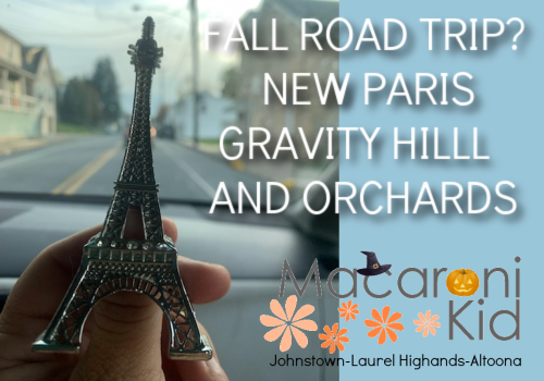 Gravity Hill, New Paris, Orchards