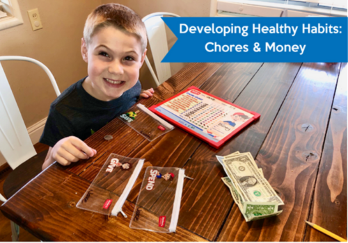 How kids can develop healthy habits with money