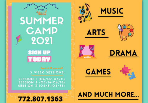 House of Music PSL 2021 Summer Camp