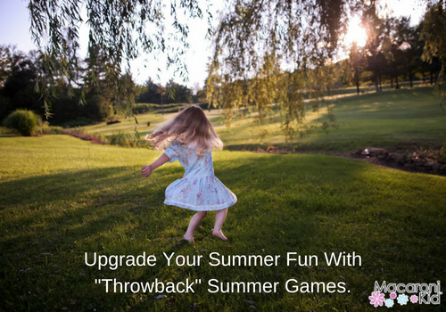 Upgrade your summer fun with throwback summer games