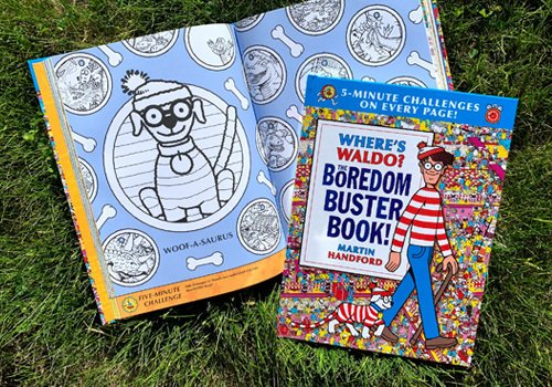 Candlewick Press Where's Waldo the Boredom Buster Book