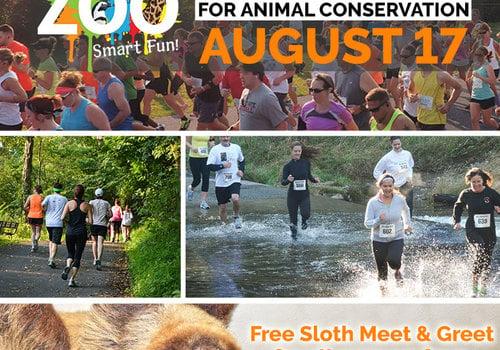 smart fun run wild zoo lehigh valley August 17, 2019