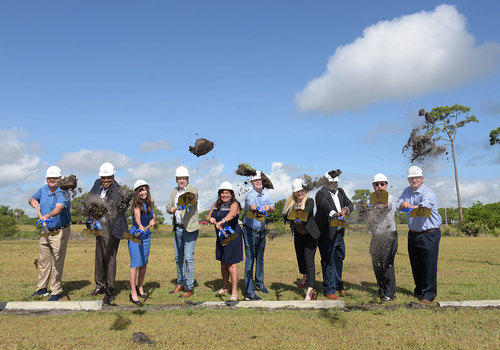 First Tee Boys and Girls Clubs of SLC Ground Breaking