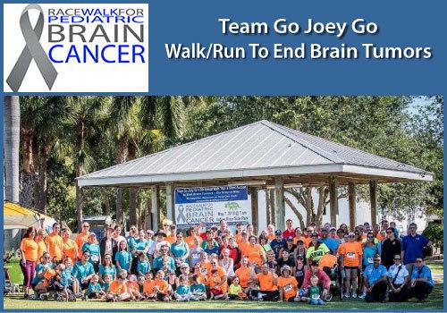 2019 Team Go Joey Go Walk to End Brain Cancer