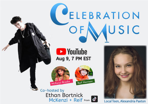 Celebration of Music August 2020 with Alexandria Paxton