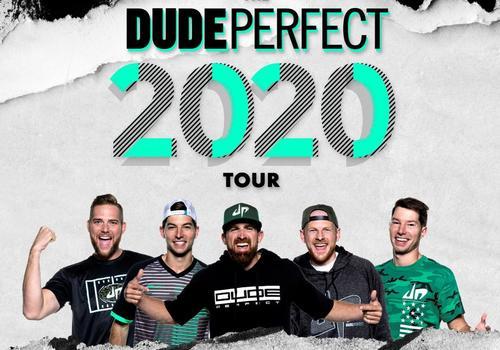 Dude Perfect 2020 Tour Rescheduled June 26, 2021
