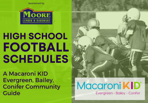 High School Football Schedules - Macaroni Kid, sponsored by Moore Lumber