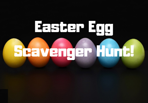 Easter Egg Scavenger Hunt in Vestavia Hills, Alabama, near Birmingham, a fun thing to do with kids.