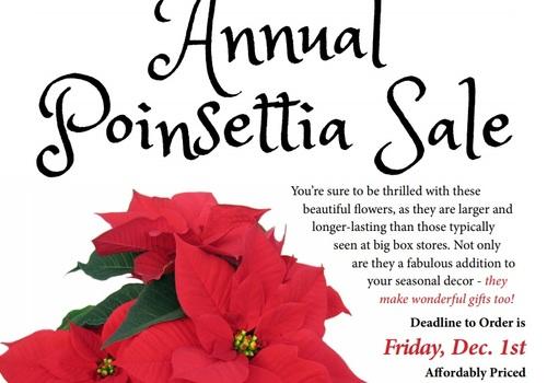 Poinsettia Sale Good Shepherd School