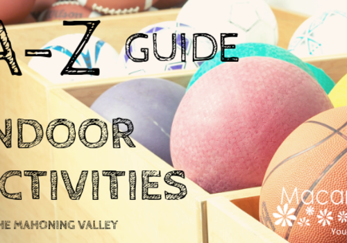 A to Z Indoor Activities Guide