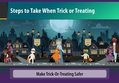 Steps to Take When Trick or Treating
