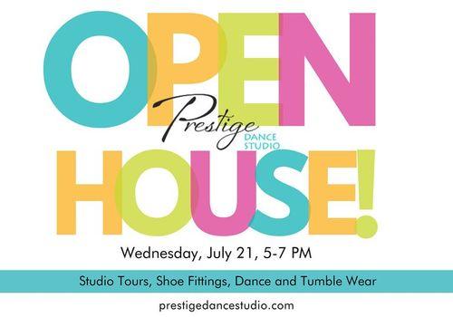Prestige Dance Studio Open House