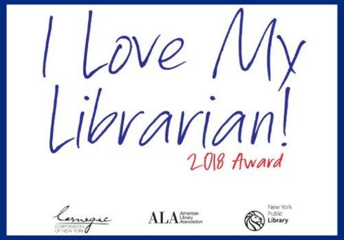 I Love Libraries Award