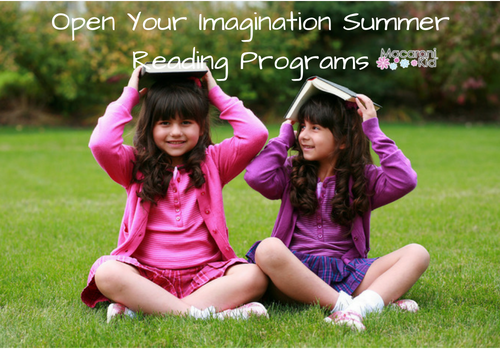 Open Your Imagination Summer Reading Programs