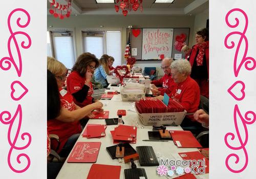 Re-mailing Stamp Volunteers