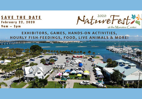 Manatee Center 2020 NatureFest Save the Date
