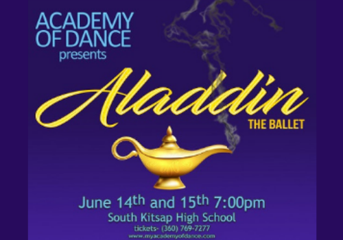 ff11cc4bf8780 Aladdin presented by Academy of Dance - Tickets on Sale Now 🧞‍