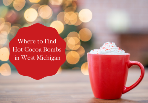Hot Cocoa Bombs in West Michigan