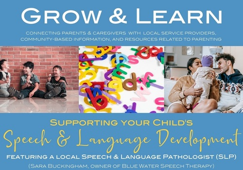 Speech & Language Development seminar