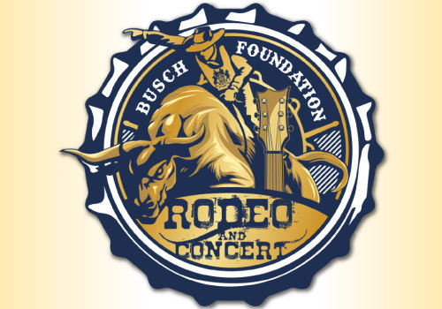 Busch Family Foundation Rodeo and concert logo