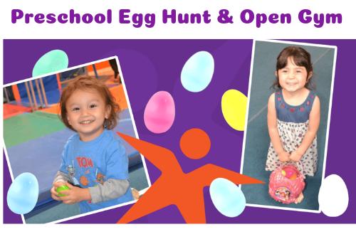 Preschool Egg Hunt & Open Gym at Pacific West Gymnastics