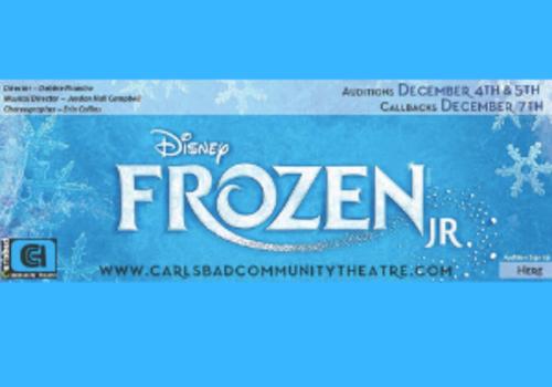Frozen Jr Auditions