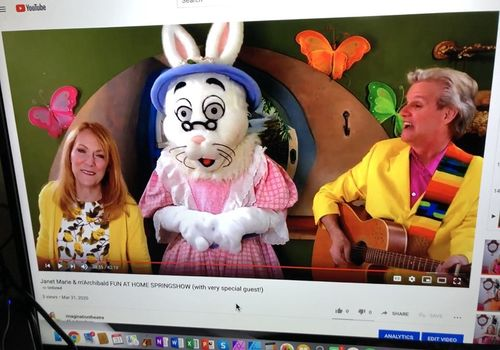 Virtual Visit with the Easter Bunny with the Gardens Mall