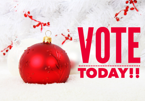 Holiday Photo Contest Time to Vote