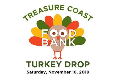 Treasure Coast Food Bank Turkey Drop 2019