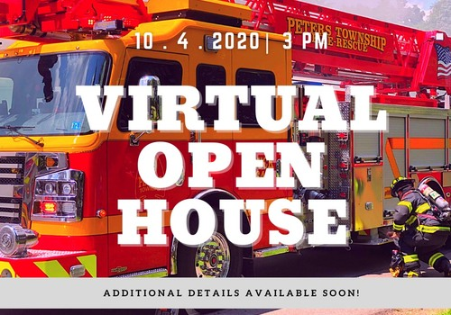 Peters Township Fire Department Virtual Open House
