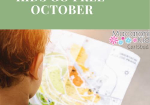 Kids Go Free October