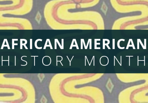 African American History Month Title Card
