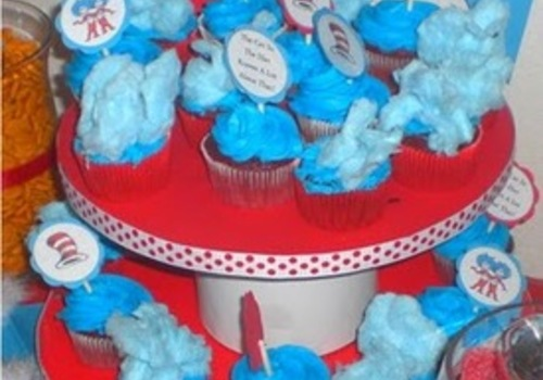 Dr Seuss themed food and treats