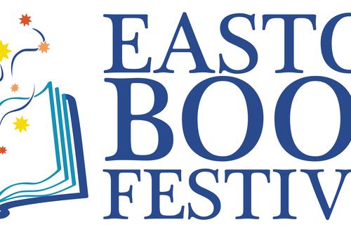 Easton Book Festival logo color Easton PA October 25-27 2019