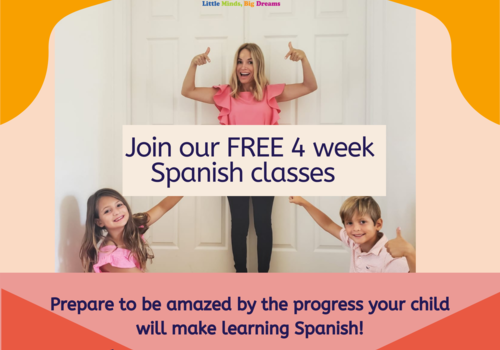 FREE Online Spanish Classes with Spanish Academy Little Minds Big Dreams