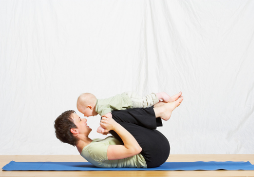 baby yoga at Fit Chick Studio