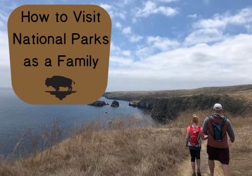 Visiting national parks as a family