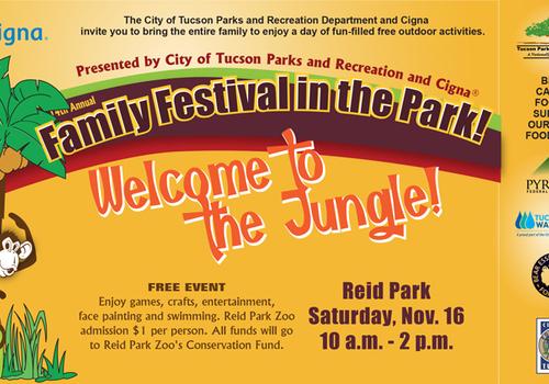 Tucson Family Festival in the Park flyer for 2019
