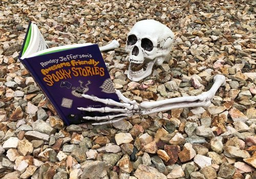Rowley Jefferson's Awesome Friendly Spooky Stories is on sale now