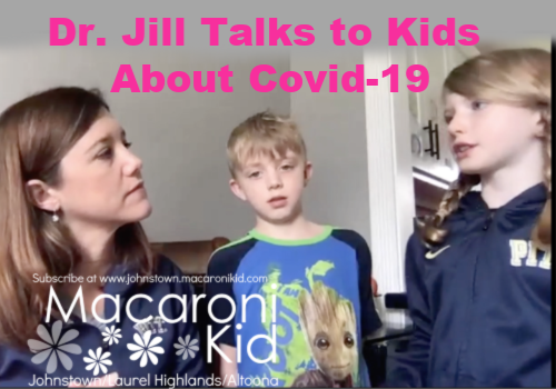 Dr. Jill Talks to kids about Covid-19
