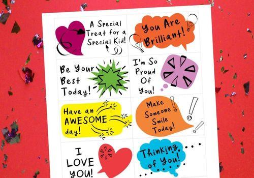 Love Note Printable