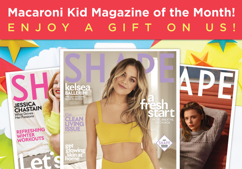 Macaroni Kid Magazine of the Month Shape Magazine