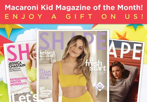 Macaroni Kid Magazine of the Month Shape Magazine