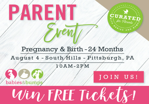 Pgh's 5th Annual Babies & Bumps - Parent Event! Win FREE