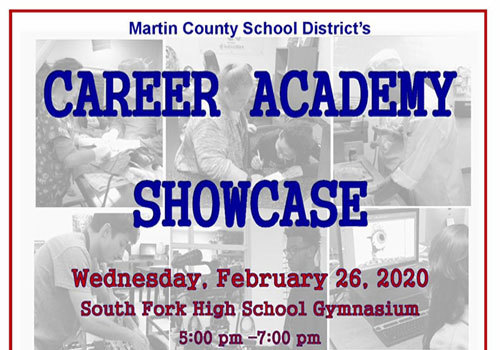 Martin County School District 2020 Career Academy Showcase