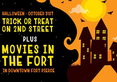 Trick or Treat on 2nd & Movies in the Fort