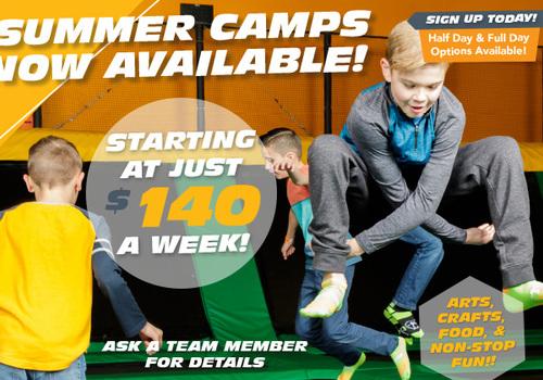 Rockin' Jump Roseville Summer Camp
