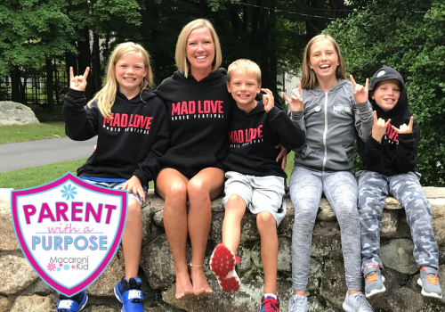 Kathleen Jodka and family - Mad Love Music Festival in Hingham MA