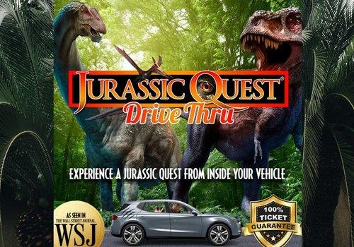 Jurassic Quest drive thru image