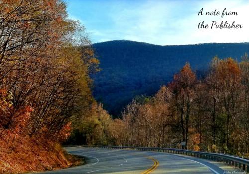 mountain leaves fall skyline drive